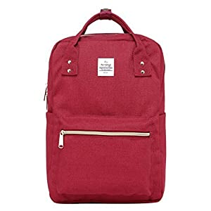 41YnKf6d%2BIL. SS300  - DISA Bolso Mochila   Cabe un MacBook de 15 Pulgadas   37x26x14 cm   Rojo