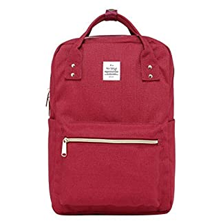 41YnKf6d%2BIL. SS324  - DISA Bolso Mochila | Cabe un MacBook de 15 Pulgadas | 37x26x14 cm