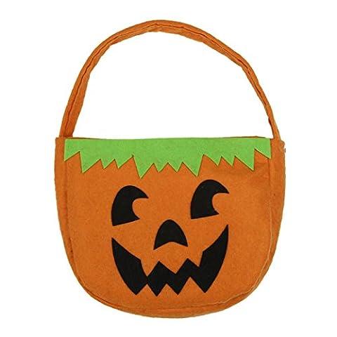 Halloween, FEITONG Sourire potiron Sac Enfants Belle Sucrerie Sacs (B)