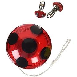 Miraculous Ladybug Set YO-YO y las pendientes