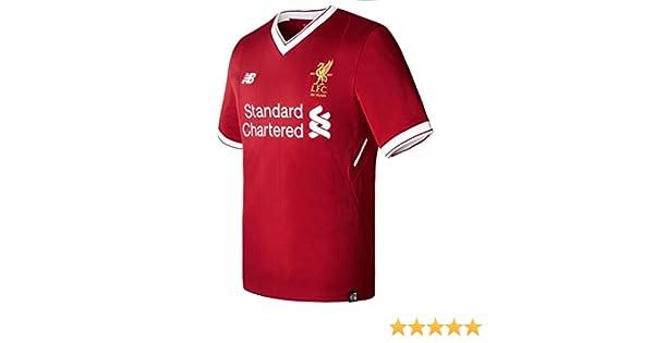 Liverpool FC 17 18 Home S S Football Shirt - Red - size XXL  Amazon.co.uk   Clothing 1de3e0d4e