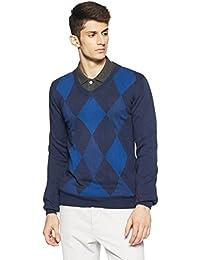 Puma Men's V-Neck Wool Sweatshirt