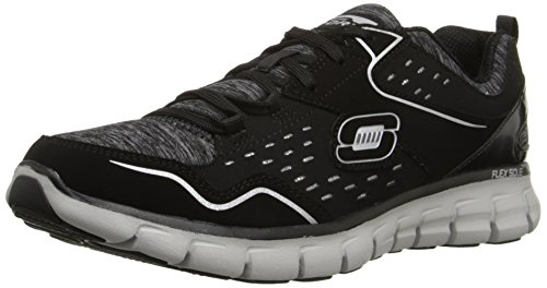 Skechers Synergy Modern Movement, Baskets Basses Femmes, Noir (Blk Noir), 38 EU