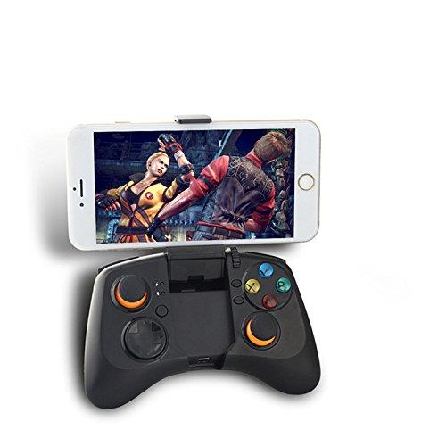 NBKMC drahtloser Bluetooth-Game-Controller Telefon Bluetooth Griff Spiel Griff mit einstellbarem Clip für Win XP / Win / Win 8 Android Phone / Tablet / TV Box / Getriebe VR / Xbox / 360 / PlayStation 3 / Tablets / Android TV / Android-TV-Boxen mit verdrahtetem und kabelloser Modus