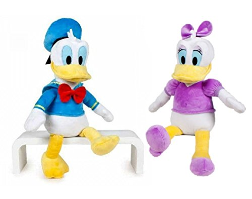 disney-pack-peluches-daisy-y-donald-35cm-calidad-super-soft