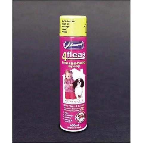 Johnsons 4Fleas Home Spray 600ml