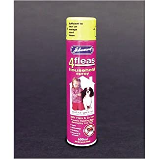 Johnsons 4Fleas Home Spray 600ml 41YnNA8be2L
