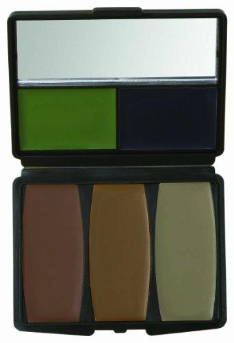 Cazadores Specialties 5 Color Militar Bosque kit de maquillaje digital