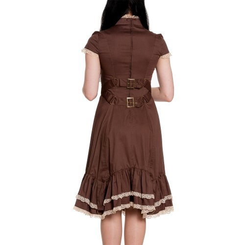 Spin Doctor dell'abito VENA CAVA DRESS brown Marrone