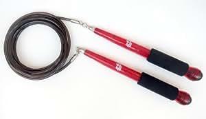 Buddy Lee's Rope Master Jump Rope - High Speed Springseil - rot/schwarz