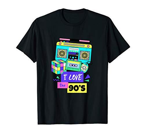 I Love The 90er Tshirt 90er Jahre ()