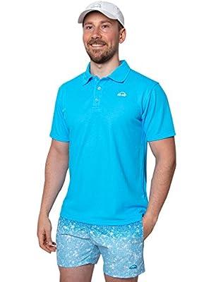 iQ-UV Herren 50 Shirt, Sonnenschutz Polo Hemd, Regular Geschnitten, Schutz von IQ-UV - Outdoor Shop