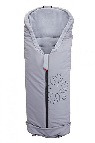 byboom Softshell Saco de invierno térmica activo para carrito y Buggy, color: gris/gris