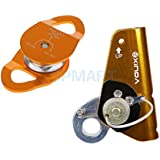 ELECTROPRIME Climbing 22KN Rope Grab Protecta Fall Arrest Ascender With 36KN Rope Pulley