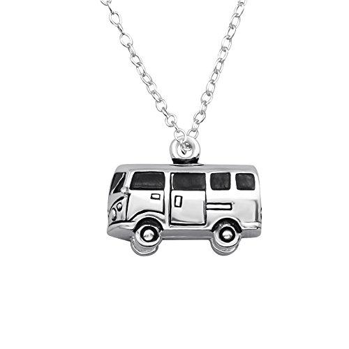 Tata Gisele© Halskette Kette aus Silber 925/000rhodiniert-Van/Camper/Camping denn/Hippie