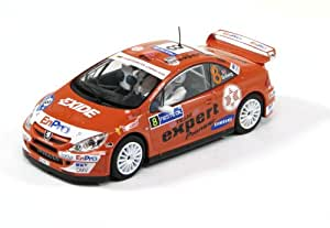 Scalextric C2885 1:32 Scale High Detail Peugeot 307 Rally Car