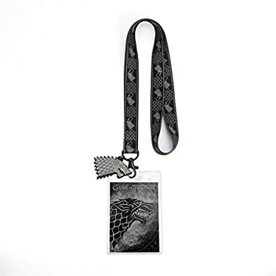 Game of Thrones House Stark Lanyard