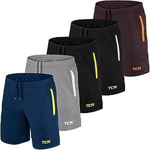 TCA Aeron Herren Trainingsshorts/Laufshorts mit Taschen