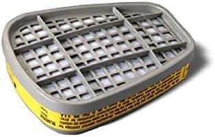 3M 51131070474 Organic Vapor or Acid Gas Cartridge 6003/07047 AAD, Respiratory Protection, Pack of 2