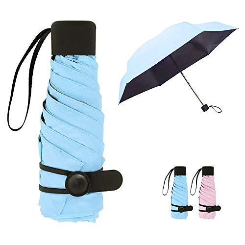 Queta Mini Paraguas Plegable Mujeres Portátil Longitud
