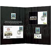 degli Abba un foglio di francobolli perforati della Repubblica Centrafricana Francobolli per collezionisti