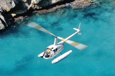 Jochen Schweizer Geschenkgutschein: Helikopterflug über Mallorca für 3