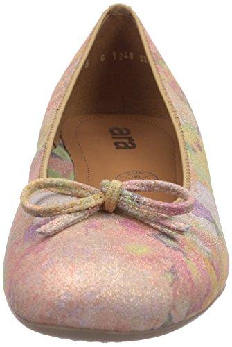 Ara Bari, Damen Geschlossene Ballerinas Beige (plush 24)