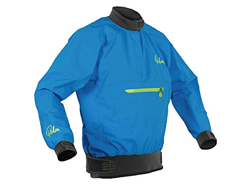 Palm Kajak oder Kajak - Vector Kayak Coat Jacke Coat Blue - Leichtgewicht. Wasserdicht und atmungsaktiv (Palm De)