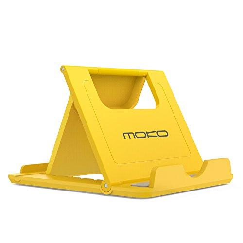 MoKo Mini Portable Handy / Tablet Ständer - Multi-Winkel Faltbar Gummi Desktop Halterung für 6-8