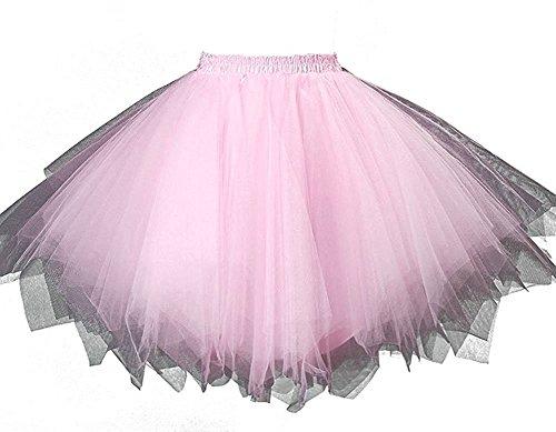 HotQueen Women's 1950s Vintage Tutu Ballet Half Slip Skirt Bubble (Tutus Teens Für)