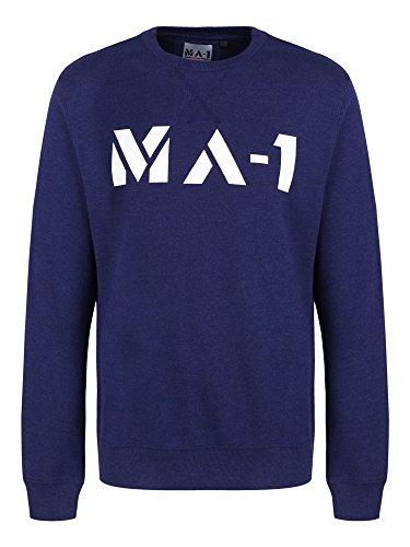 Modern Asthetics Herren Sweatshirt Indigo