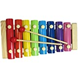 NPRC Wonderful Voice Multicolor Wooden Xylophone For Kids Musical Toy With 8 Notes