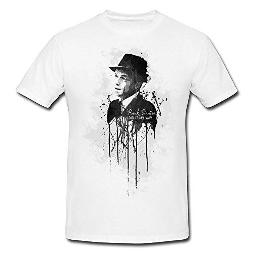Frank-Sinatra T-Shirt Herren, Men mit stylischen Motiv von Paul Sinus (T-shirts Von Paul Frank)