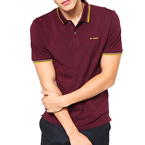 Ben Sherman Mc11485-Polo Uomo    marrone Small