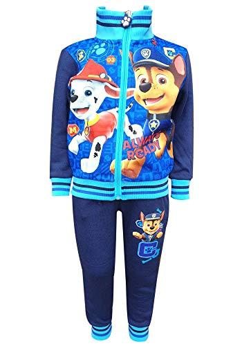 Offiziell lizenzierte Paw Patrol Printed mit Fleece-Futter Anzug Trackpant Alter 3 bis 8 Jahre