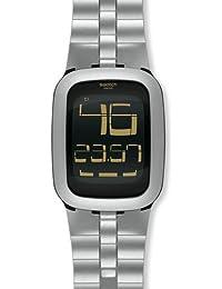 Reloj SWATCH Touch surm100 al cuarzo (batería) resina quandrante negro ...