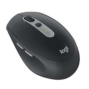 Logitech  M590 Souris sans Fil Silencieuse Multidispositif Bluetooth pour Windows/Mac Graphite Noir (910-005197)