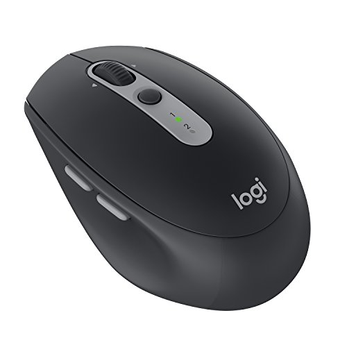 Logitech M590 Silent Wireless Mouse (Multi-Device Silent Bluetooth Mouse for Windows, Mac & Android Devices) - Black Graphite