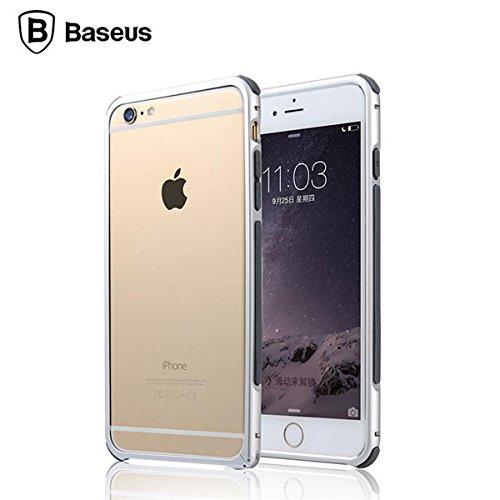 BASEUS antichoc Aluminium MŽtal Bumper Case Cover Frame pour Apple iPhone 6 Plus de 5,5 pouces rouge
