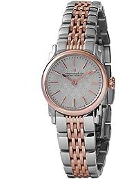Dreyfuss Co Ladies '1924exclusivo acero y oro rosa reloj de pulsera