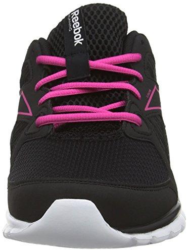 Reebok Sublite Escape MT, Chaussures de running entrainement femme Noir (black/charged Pink/white)