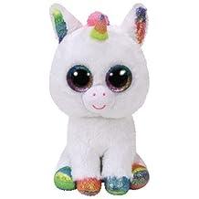 TY - Beanie Boos Pixy - Unicornio Blanco 15 cm (United Labels Ibérica 36852TY)