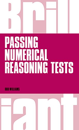 Brilliant passing numerical reasoning tests everything you need brilliant passing numerical reasoning tests everything you need to know to understand how to practise fandeluxe Choice Image