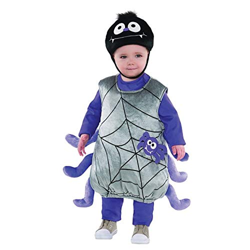 Itsy Bitsy Spider Baby Toddler Fancy Dress Plush Soft Toy Costume Halloween Boys Girls SMALL 1-2 Years by ()