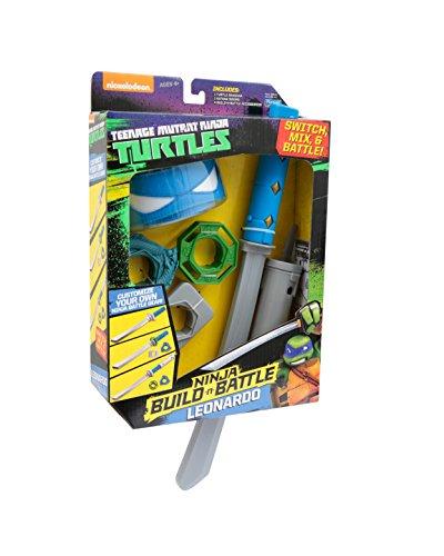 Image of Teenage Mutant Ninja Turtles Turtles Ninja Build N Battle Leo