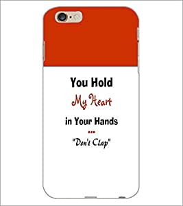 PrintDhaba Quote D-3197 Back Case Cover for APPLE IPHONE 6S PLUS (Multi-Coloured)
