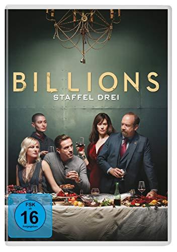 Billions - Staffel Drei [4 DVDs]