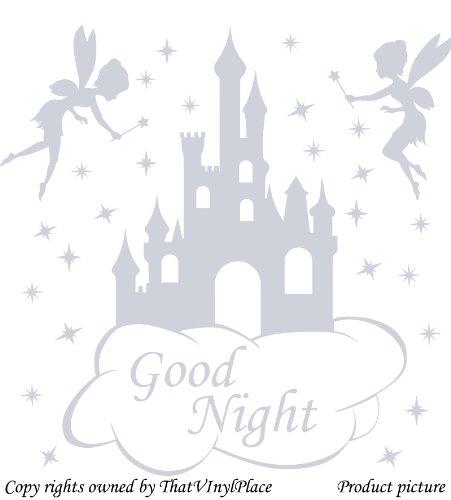 2-fatine-con-testo-good-night-castello-nuvole-e-stelle-wall-sticker-60-cm-x-60-cm-colore-argento-met