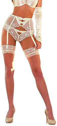 Roza Essme Tanga, in Weiß oder Elfenbeinfarben Elfenbein - Elfenbein