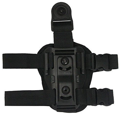 g Thigh rig platform rotating adjustable for holster and magazine pouch, adapter paddle ()